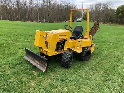 Vermeer V3550a Tractor Ride On Trencher Diesel