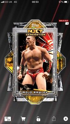 #171 Mojo rawley Slam ATTAX then Now Forever