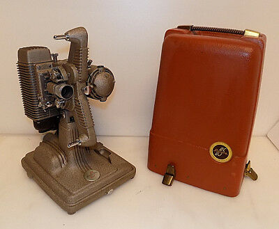 Vintage REVERE Model 85 8MM Movie Film Portable Projector with Case