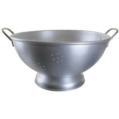 "Double-Handled Aluminium Colander 18.5"" (Next working day UK Delivery)"