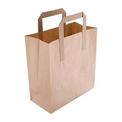 Fiesta Small Recycled Paper Bags (Pack of 250) (Next working day UK Delivery)