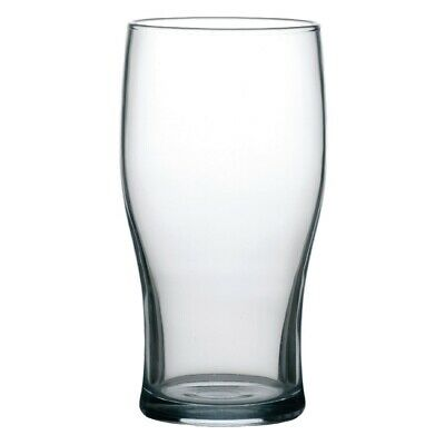 Arcoroc Tulip Nucleated Beer Glasses 570ml CE Marked (Pack of 48)