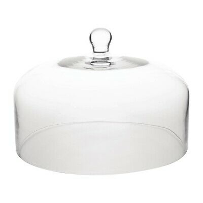 Olympia Glass Cake Stand Dome (Next working day UK Delivery)