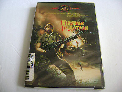 Missing in Action (DVD, 2000) Chuck Norris / Brand New Sealed