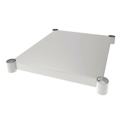 Vogue Stainless Steel Table Shelf 700x600mm (Next working day UK Delivery)