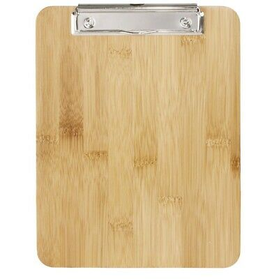 Olympia Bamboo Menu Clipboard A4 (Next working day UK Delivery)