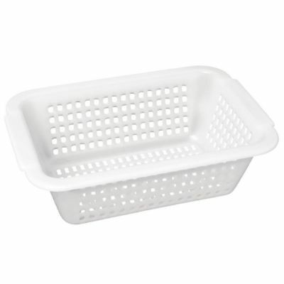 Vogue Square Colander White 395mm (Next working day UK Delivery)