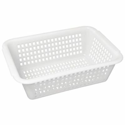 Vogue Square Colander White 272mm (Next working day UK Delivery)