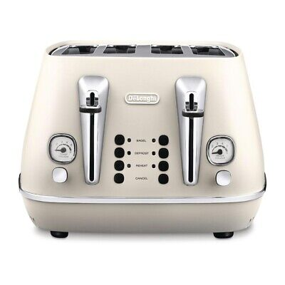 Delonghi Distinta Toaster White CTI4003W (Next working day UK Delivery)