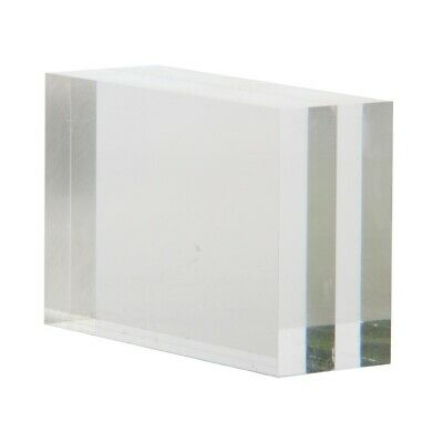 Clear block menu holder (Next working day UK Delivery)