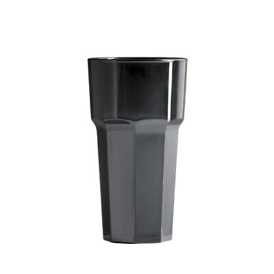 BBP Polycarbonate Tumbler 341ml Black (Pack of 36) (Next working day to UK)