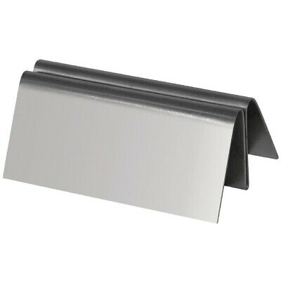 Stainless Steel Menu Holder (Next working day UK Delivery)
