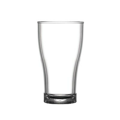 BBP Polycarbonate Nucleated Viking Half Pint Glasses CE Marked (Pack of 36)