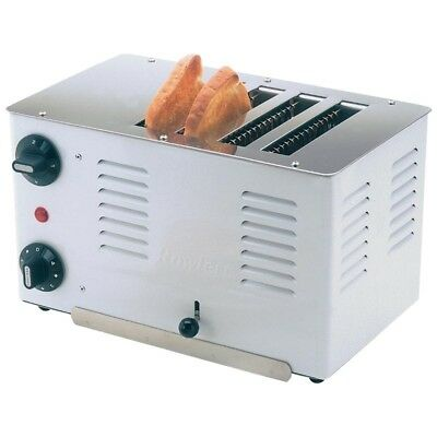 Rowlett Regent 4 Slice Toaster 4ATW-131 (Next working day UK Delivery)