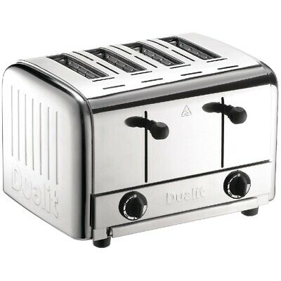 Dualit Caterers 4 Slice Pop Up Toaster 49900 (Next working day UK Delivery)
