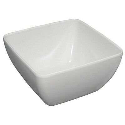 Curved White Melamine Bowl 11in (Next working day UK Delivery)