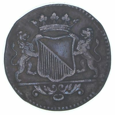 1745 Dutch Republic-Utrecht 1 Duit *821