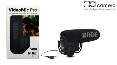Brand New Rode VideoMic Pro with Rycote Lyre Shockmount  23659