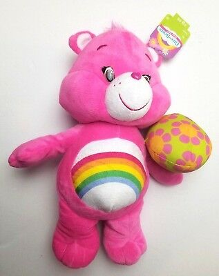 "Care Bears Cheer Bear Just Play 14"" Plush Doll 2015 New W/ Tags"