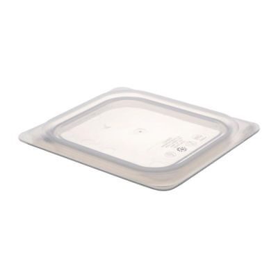 6 Pack Cambro Gastronorm Polycarbonate Pan Lid 1//6 size with Spoon Notch 6 pack