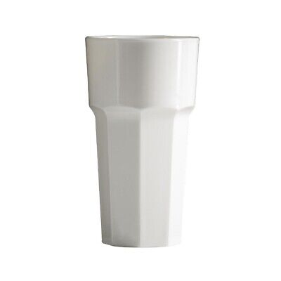 BBP Polycarbonate Tumbler 340ml White (Pack of 36) (Next working day to UK)