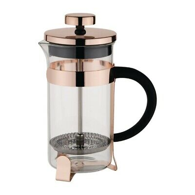 Olympia Contemporary Cafetiere Copper 3 Cup (Next working day UK Delivery)