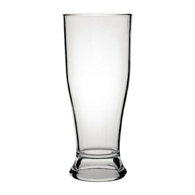 Kristallon Polycarbonate Beer Glasses 350ml (Pack of 12) (Next working day to UK