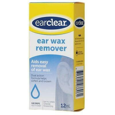 New Ear Clear Ear Wax Remover 12mL