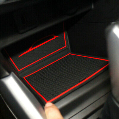 Gate slot Mats For SUZUKI VITARA 2016-2018 Non-slip Interior Door Pad/Cup