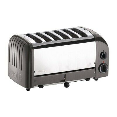 Dualit 6 Slice Vario Toaster Charcoal 60156 (Next working day UK Delivery)