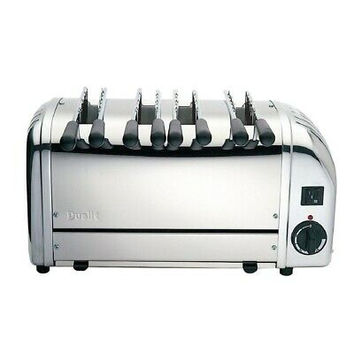 Dualit 4 Slice Sandwich Toaster Stainless Steel 41036 (Next working day to UK)
