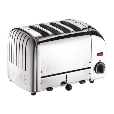 Dualit 4 Slice Vario Toaster Stainless 40352 (Next working day UK Delivery)