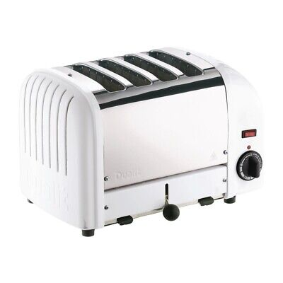 Dualit 4 Slice Vario Toaster White 40355 (Next working day UK Delivery)