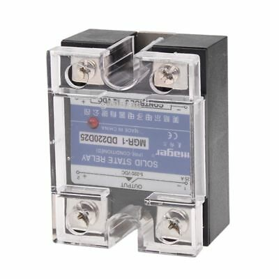 DC to DC Single Phase Solid State Relay SSR 25A 3-32V 5-220V w Transparent V3J6