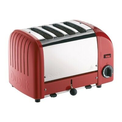 Dualit 4 Slice Vario Toaster Red 40353 (Next working day UK Delivery)