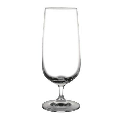 Olympia Bar Collection Crystal Stemmed Beer Glasses 410ml (Pack of 6)