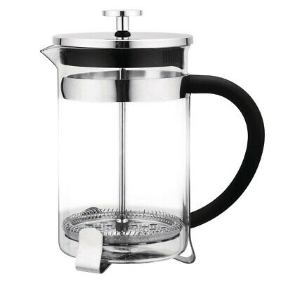 Olympia Contemporary Glass Cafetiere 12 Cup (Next working day UK Delivery)