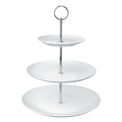 Olympia 3 Tier Afternoon Tea Cake Stand (Next working day UK Delivery)