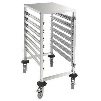 Vogue Gastronorm Racking Trolley 7 Level (Next working day UK Delivery)