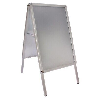 Clip Frame Pavement Sign 780 x 463mm Aluminium (Next working day UK Delivery)