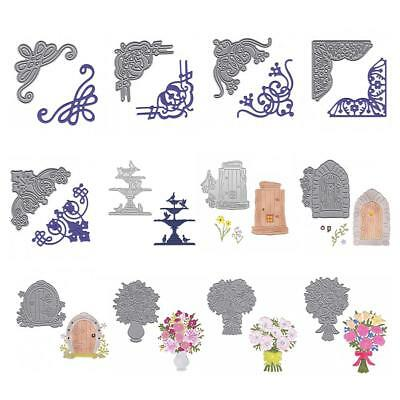 Metal Cutting Dies Stencils DIY Craft Album Card Gift Scrapbook Embossing Decor
