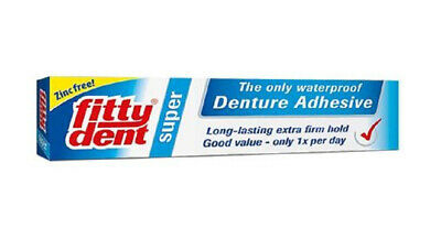 Fittydent Denture Adhesive 40g Extra Firm Hold Zinc Free