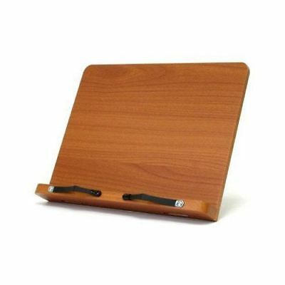 Wiztem Tulip Book Stand Portable Wooden Reading Holder Desk Bookstand