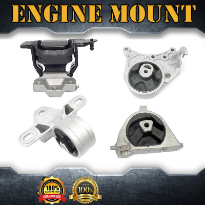 Anchor-Engine Auto Trans Mount Kit 4PCS For 2001-2007,DODGE,CARAVAN V6 3.3L