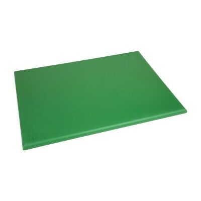 Hygiplas Extra Thick High Density Green Chopping Board Large