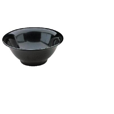 Valencia Black Melamine Bowl 9in (Next working day UK Delivery)