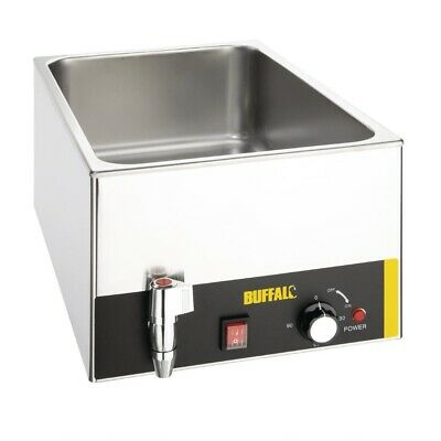 Buffalo Bain Marie with Tap without Pans (Next working day UK Delivery)