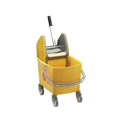 Rubbermaid Kentucky Mop Bucket  Yellow (Next working day UK Delivery)