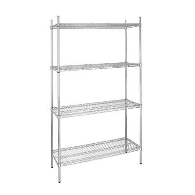 Vogue 4 Tier Wire Shelving Kit 915x460mm (Next working day UK Delivery)