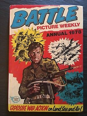 Battle Picture Weekly Annual 1978 Hardcover Book